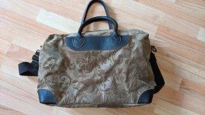 Genuine Leather Borsa da viaggio multicolore Pelle