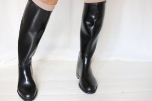 Aigle Riding Boots black-forest green