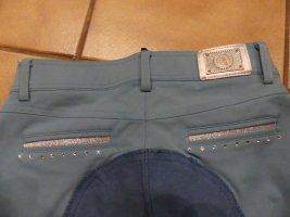 Pantalon d'équitation turquoise