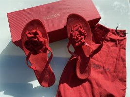 Dianette Sandals red leather