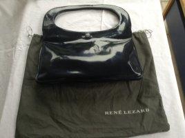 Rene Lezar dunkelblau Lackleder ---- Neu/Unbenutzt