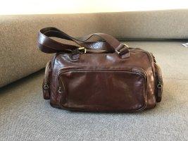 René Lezard Vintage Echtleder Handtasche