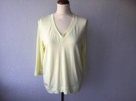 Repeat Maglione lavorato a maglia giallo pallido