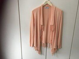 Repeat Cardigan in maglia albicocca Cotone