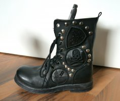 Replay Lace-up Boots black