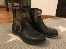 Replay Ankle Boots black-silver-colored