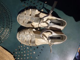 Replay Espadrilles Gold Gr. 39
