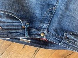 Replay Jeansy z prostymi nogawkami niebieski