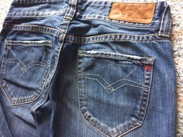 Replay Low Rise jeans blauw-staalblauw