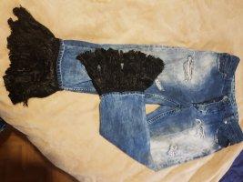 Replay Workowate jeansy niebieski