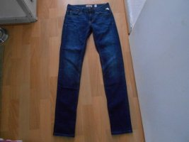 Replay Jeans a gamba dritta blu scuro Cotone