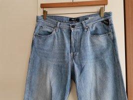 Replay Jeans boyfriend bleu azur-bleu acier