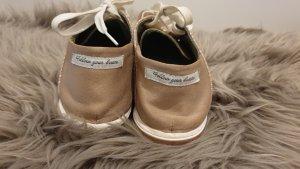 Replay Sneaker stringata bronzo-oro