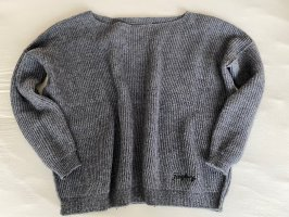 Replay Wollpullover Pullover grau S
