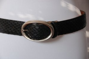 Reptile's House Leather Belt black leather
