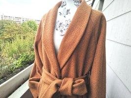 Reserved Płaszcz zimowy camel