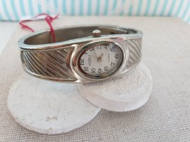 Fermoir de montre argenté