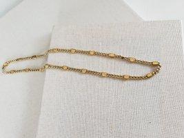 Retro Goldfarbene Kette Halsschmuck Halskette Schmuck