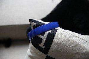 Bijoux pour la tête bleu fluo