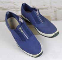 Zapatos de marinero multicolor fibra textil