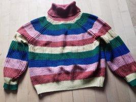Jersey de ganchillo multicolor
