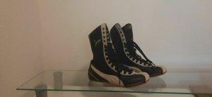 Retro PUMA Schattenboxen Schuhe 36 Leder Sportschuhe Stiefelette