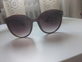 Retro Girl Gafas Retro rojo zarzamora-púrpura