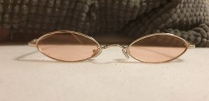 Oval Sunglasses silver-colored-pink