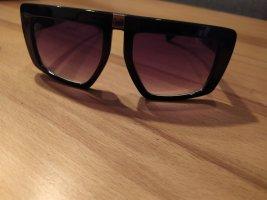 Bijou Brigitte Round Sunglasses black