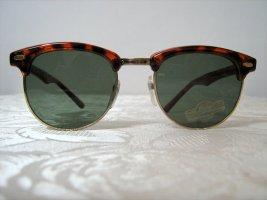 Retro Sonnenbrille Hippie 50-er Jahre Style Vintage Unisex Nerd