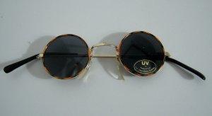 Retro Sonnenbrille Rund Hippie Lennon Woodstock Vintage