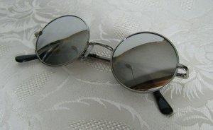 Retro Sonnenbrille Rund Hippie Lennon Woodstock Vintage Unisex Verspiegelt