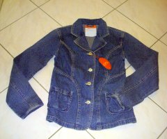CFL Denim Blazer blue cotton