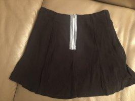 Review Flounce Skirt black-white