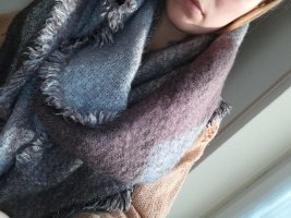 Review Schal Lila/grau