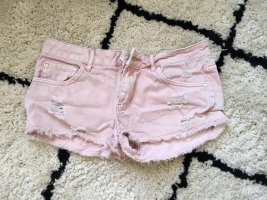 Review / Sexy rosa Hot-Pants aus Jeansstoff