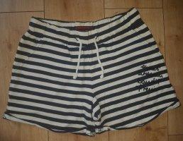 Review Shorts Bermuda Hot Pants Panty Freizeithose Caribbean Sea Blau/Weiß gestreift S 36