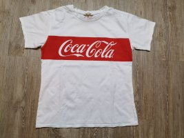 Review T-Shirt Shirt S used Style rot Coca Cola weiß used style