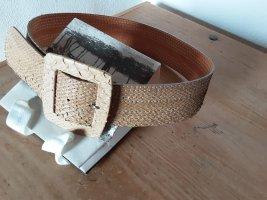 RH Leather Belt sand brown