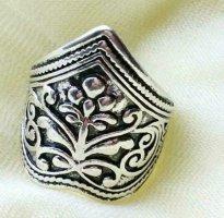 Anillo de plata color plata