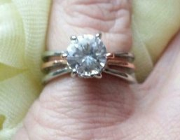 Silver Ring silver-colored-gold-colored
