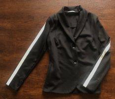Rich & Royal Blazer in jersey nero-bianco