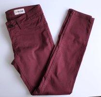 Rich & Royal Jeans Super Skinny Low Waist Weinrot W28 L32 Hüftjeans