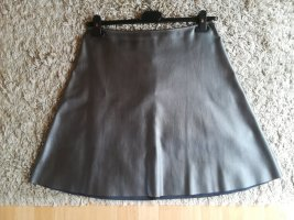 Rich & Royal Asymmetry Skirt silver-colored-grey polyester