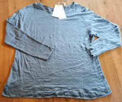 Rich & Royal Oversized Shirt silver-colored-slate-gray