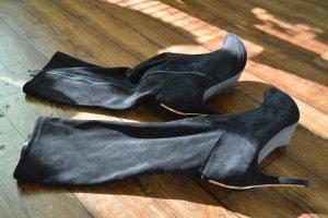 Tamaris Stivale a gamba corta nero