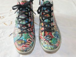 Ricostasneaker im Graphitispraylook, neu !!!! Größe 39.