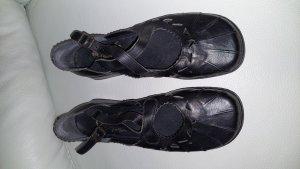 Rieker Ballerines à lacets noir