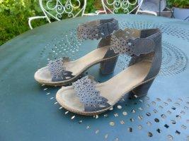 Rieker Grau Sandalette Gr.39