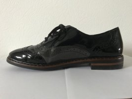 Rieker Zapatos Budapest negro Cuero